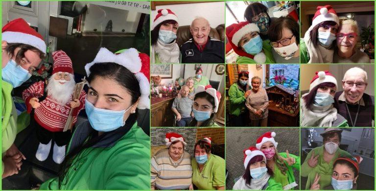 Frohe Weihnachten wünscht das Lintforter Pflegeteam