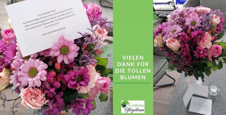 Danke fuer den Blumenstrauss