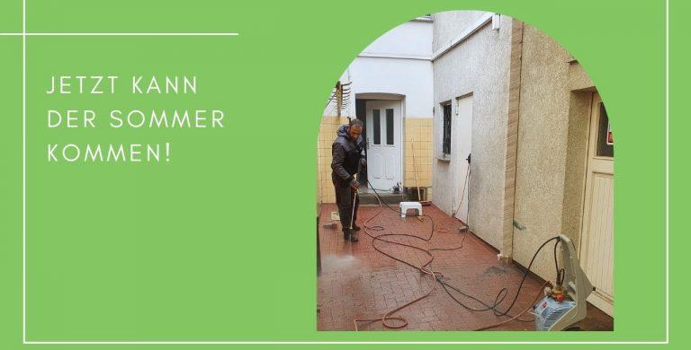Haushaltsservice fuer Haus und Garten